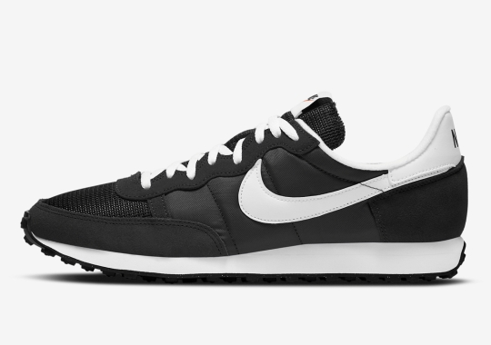 """The Nike Challenger OG Continues Its Throwback Run With Simple """"Black/White"""""""