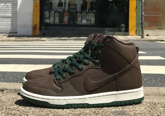 Nike SB Debuts Their Vegan Leather Constructed Dunk High