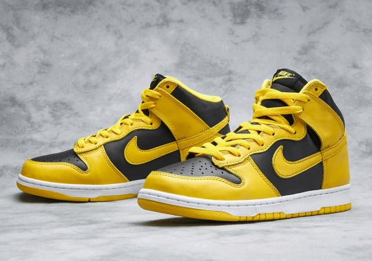 "Where To Buy The Nike Dunk High SP ""Varsity Maize"""