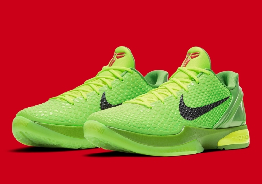 """Nike Is Officially Bringing Back The Kobe 6 Protro """"Grinch"""""""