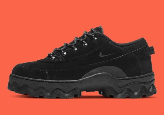 Nike Modernizes 1989's Lahar Escape Into A Women's Low-Top Boot