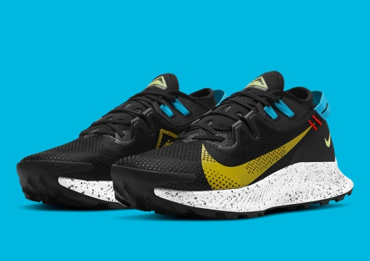 "The Nike Pegasus Trail 2 Skews To Darker Shades With ""Dark Sulfur"" And ""Off Noir"""