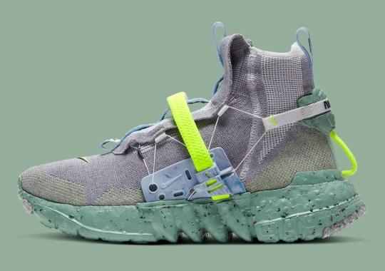 """The Nike Space Hippie 03 Returns In """"Healing Jade"""" Colorway"""