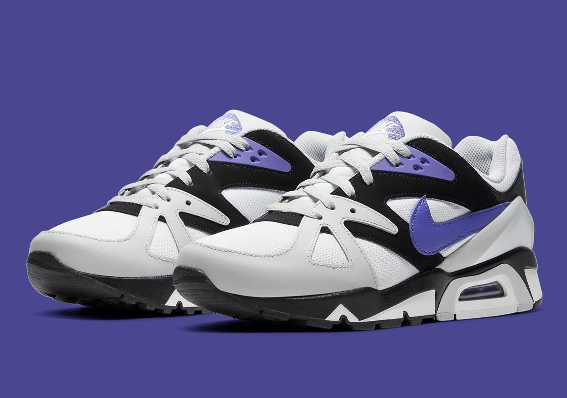 Nike Air Structure Triax 91 Grey Purple DB1549-002 | SneakerNews.com