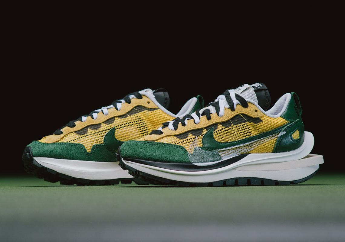 sacai Nike VaporWaffle Tour Yellow CV1363-700 Release ...