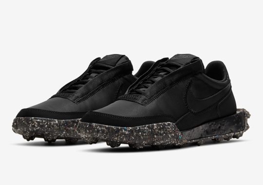 The Nike Waffle Racer Crater Hits The Dark Side Of The Moon