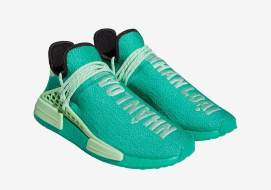 Pharrell x adidas NMD Hu In Green Releasing Exclusively At ComplexLand