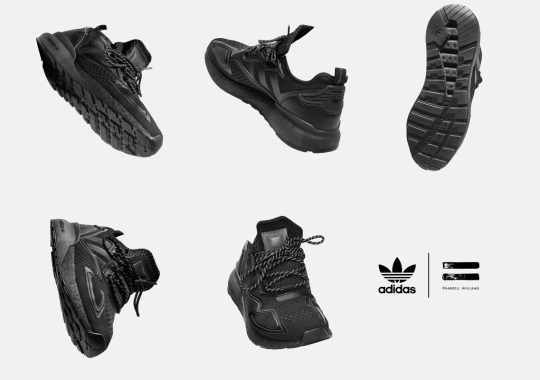 "Pharrell's 19-Piece ""Triple Black"" adidas Collection Arrives December 12th"