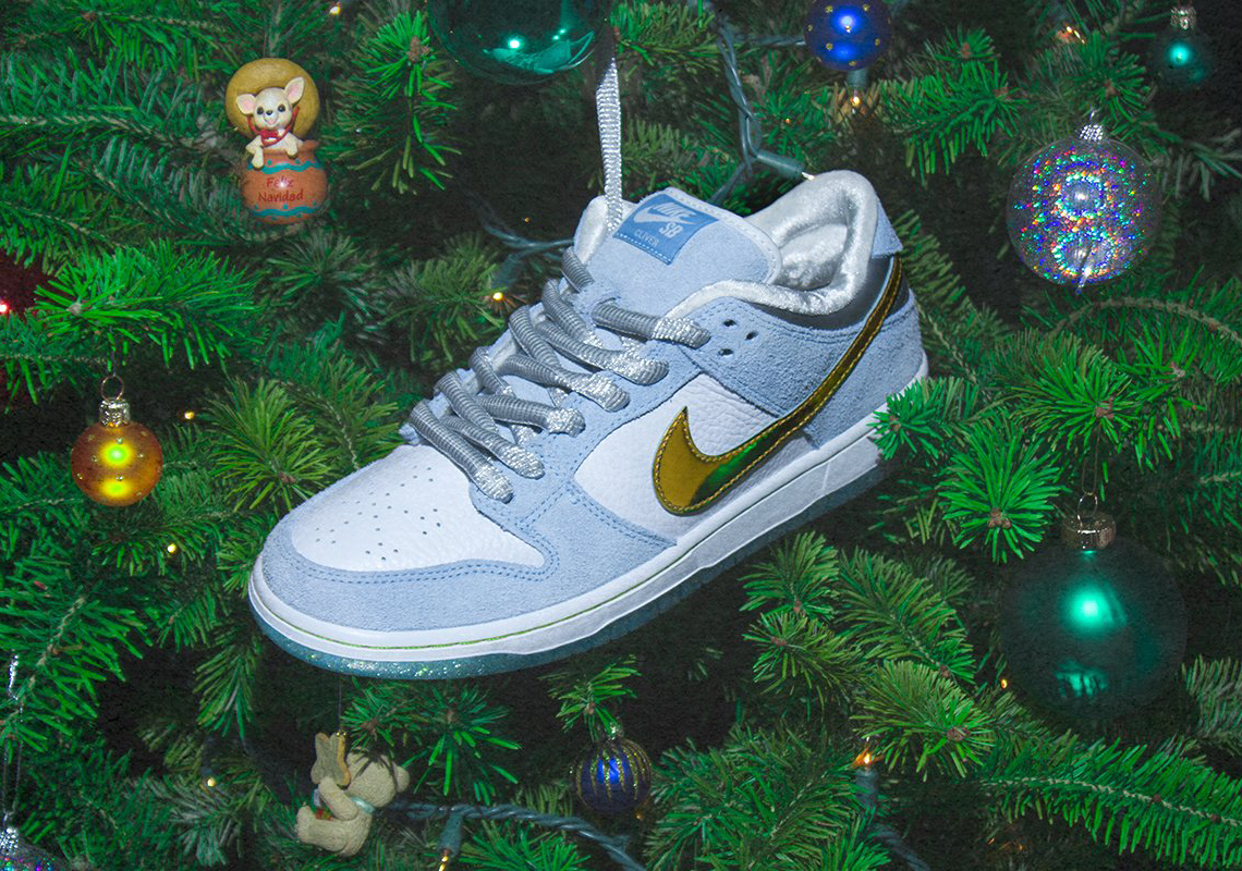 monstruo Shipley Indulgente  Sean Cliver Nike SB Dunk Low Holiday Special Store List | Chem-ucla