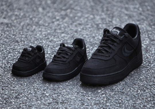 Stussy x Nike Air Force 1 Releasing In Full-Family Sizes