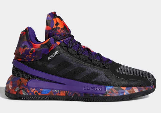 """The adidas Hoops """"Made In China"""" Collection Features A Blast Of Colored Patterns"""