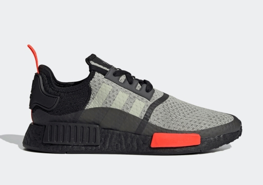 "The adidas NMD R1 Arrives With ""Solar Red"" Accents Soon"