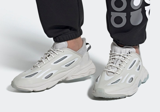 The adidas Ozweego Celox Surfaces In A Greyscale Colorway