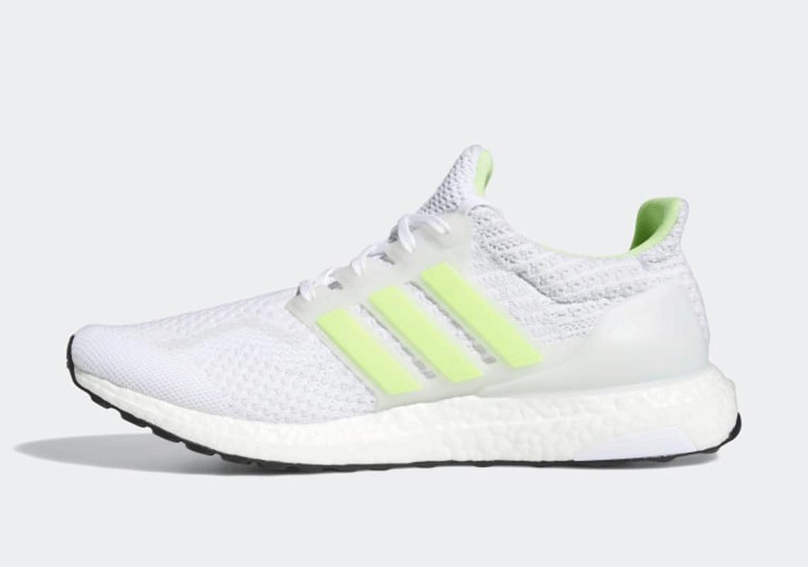 adidas Ultra Boost 5.0 White Signal Green G58753 | SneakerNews.com