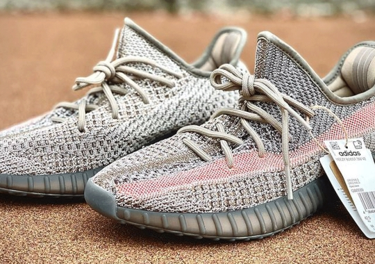"Best Look Yet At The adidas Yeezy Boost 350 V2 ""Ash Stone"""