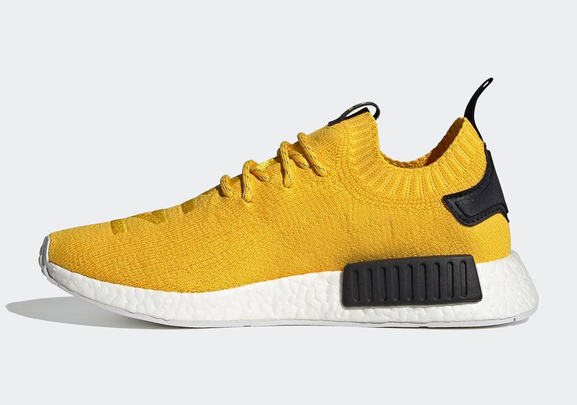 adidas NMD R1 Primeknit EQT Yellow Black S23749 | SneakerNews.com