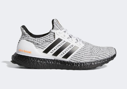 """This adidas Ultra Boost 4.0 DNA """"Cookies And Cream"""" Gets a Dash Of Orange"""