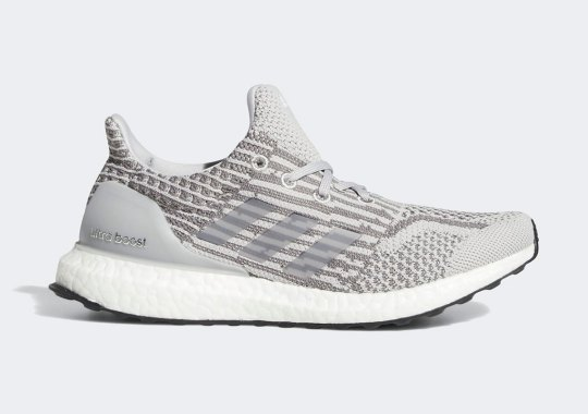 The adidas Ultra Boost 5.0 Uncaged Sees A Mix Of Hazy Grey Uppers
