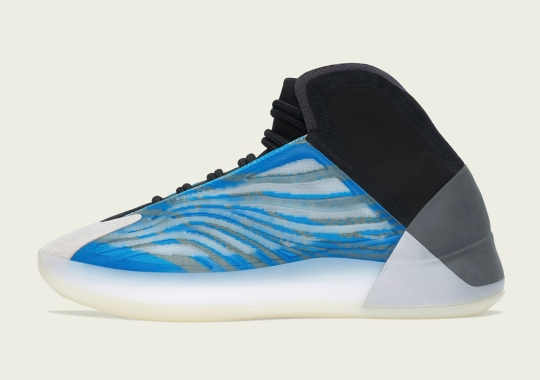 """The adidas YZY BSKTBL """"Frozen Blue"""" Releases On December 22nd"""