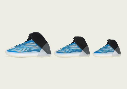 "adidas Yeezy Quantum ""Frozen Blue"" Releasing December 23rd"