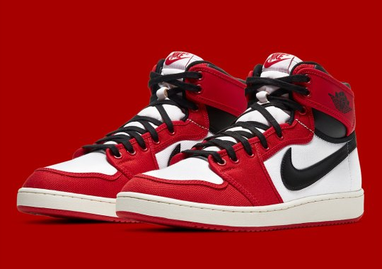 """Official Images Of The Air Jordan 1 KO """"Chicago"""""""