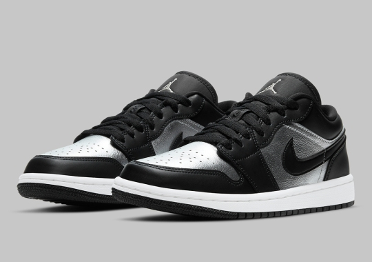 "Air Jordan 1 Low Coming In A ""Silver Toe"" Style"