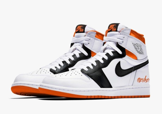 "The Air Jordan 1 Retro High OG Set To Arrive In ""White/Orange/Black"" July 2021"