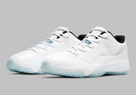 "The Air Jordan 11 Low ""Legend Blue"" Releases In May"
