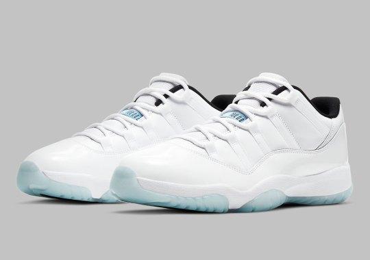 "The Air Jordan 11 Low ""Legend Blue"" Releases In April"