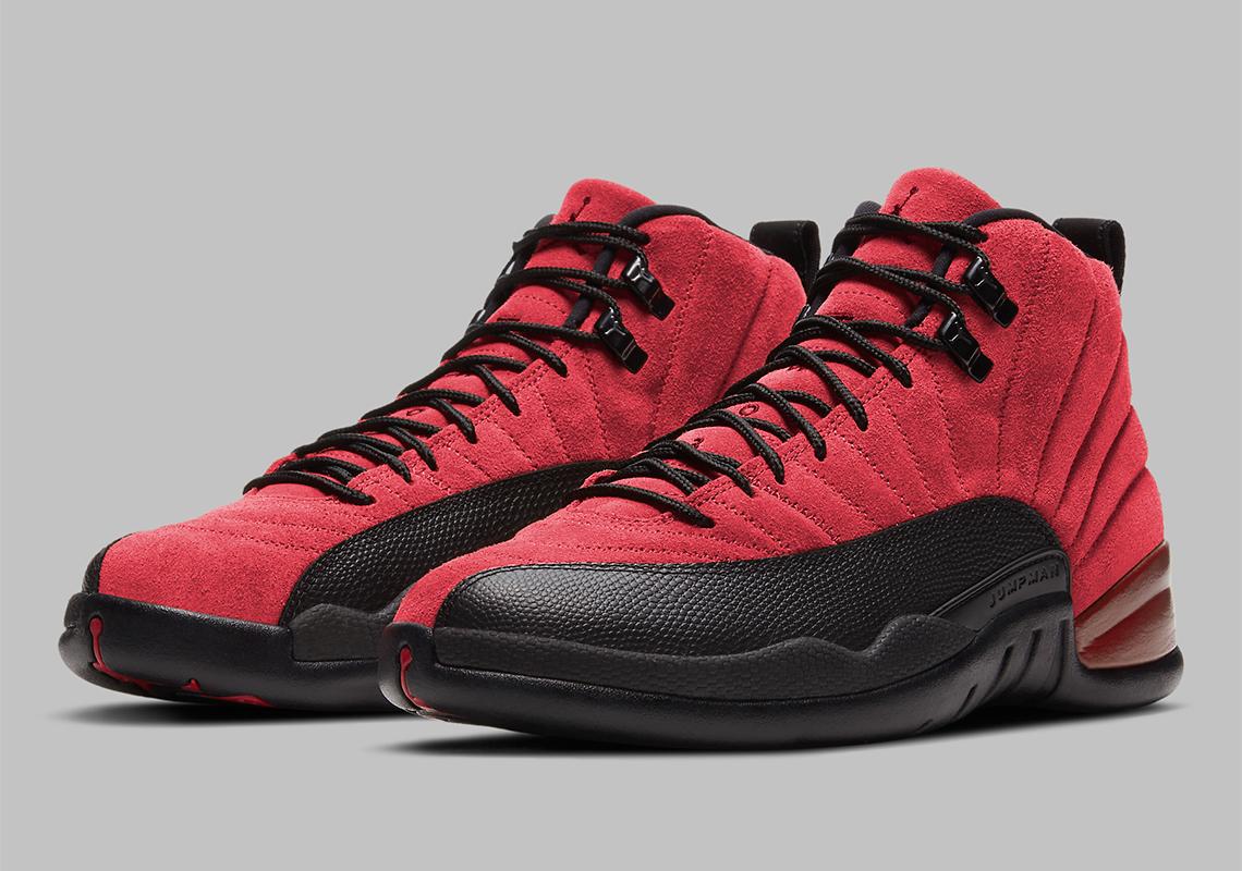 lotería plan de estudios Sinceridad  Air Jordan 12 Varsity Red Black Reverse Flu Game Release Info |  SneakerNews.com