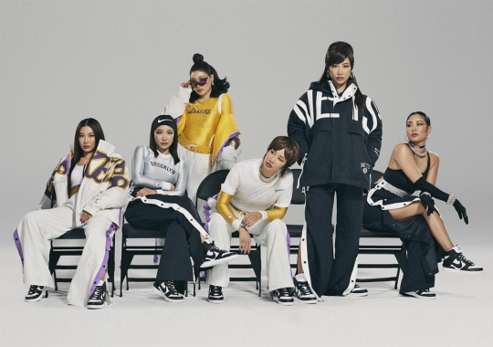 AMBUSH Reworks Lakers And Nets Gear For Women With Nike And NBA Collaboration