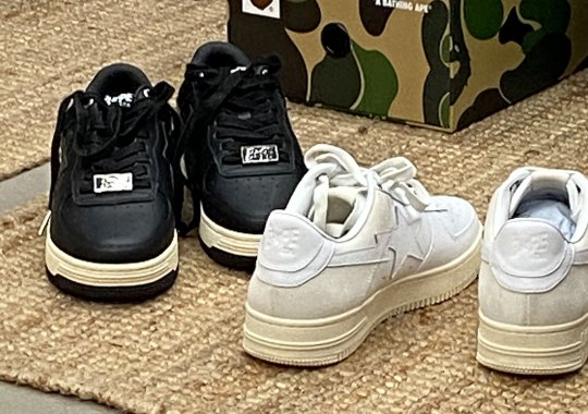 BAPE Is Bringing Back The Original Three BAPESTA Colorways With Reworked Construction