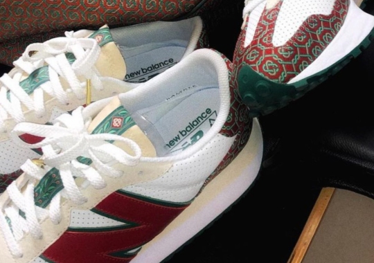 Casablanca To Add Its Monogramme Pattern To Upcoming New Balance 327 Drops