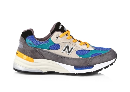 """The New Balance 992 """"Colorblock"""" Offered For Pre-Order Ahead Of 2021 Release"""