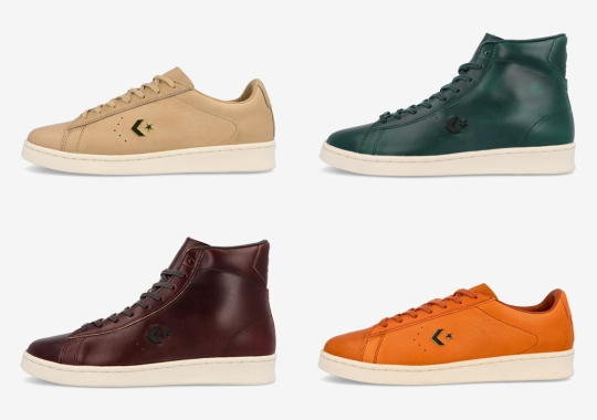 Converse Applies Horween Leathers To This Pro Leather Capsule