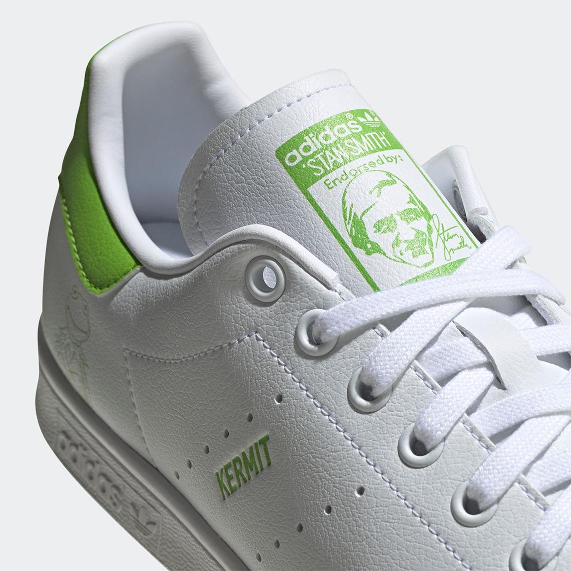 Kermit The Frog adidas Stan Smith FX5550 Release Info ...