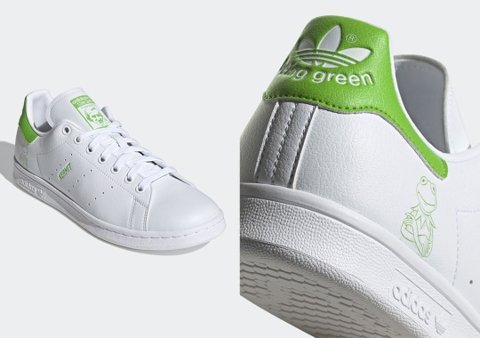 Kermit The Frog Gets His Own adidas Stan Smith