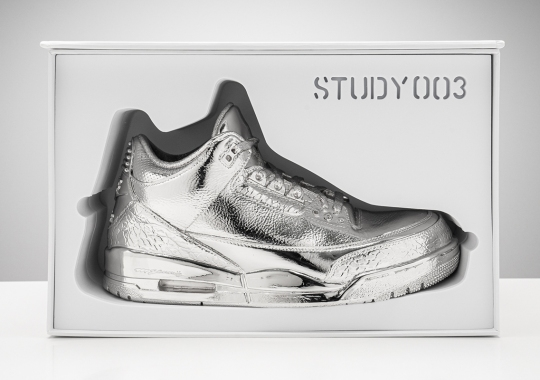 "Matthew Senna And Stadium Goods To Host ""Study 003"" Exhibit With Limited Air Jordan 3 Cast Release"
