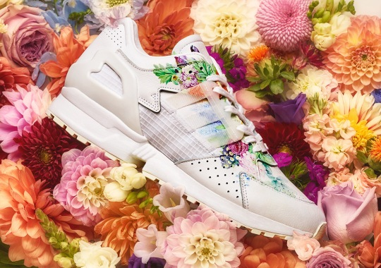 Germany's Meissen Adds Floral Prints To The adidas ZX10.000C