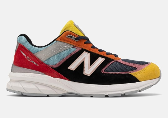 "The New Balance 990v5 ""Multi-color"" Is Available Now"