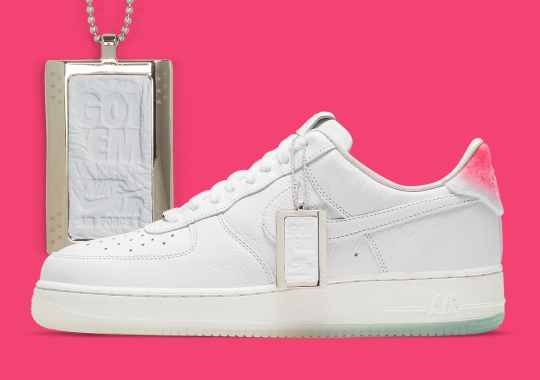 "Nike Commemorates The SNKRS ""GOT 'EM"" With The Air Force 1 Low"