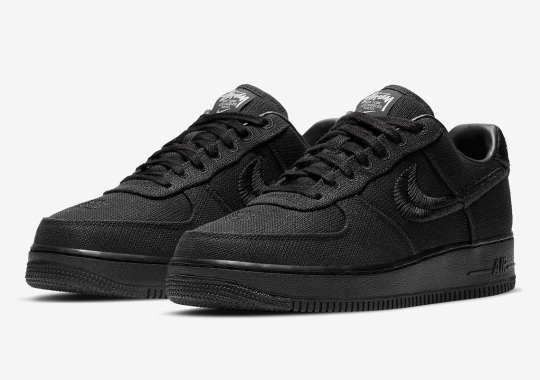 Stussy x Nike Air Force 1 Low Releasing Again On December 15th