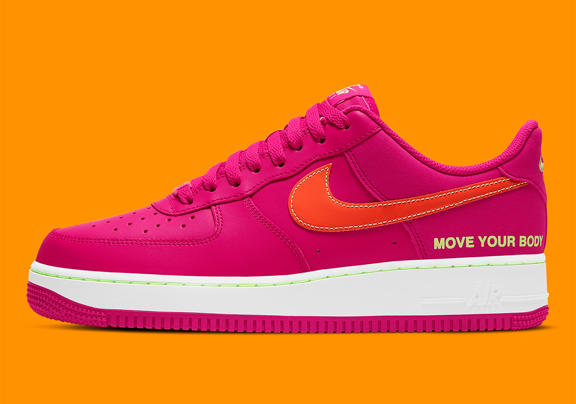 Nike Air Force 1 World Tour Move Your Body DD9540-600 ...