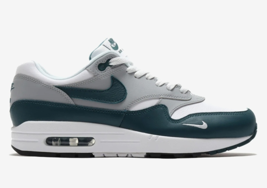 "Nike Air Max 1 LV8 ""Dark Teal Green"" Arriving In Early 2021"