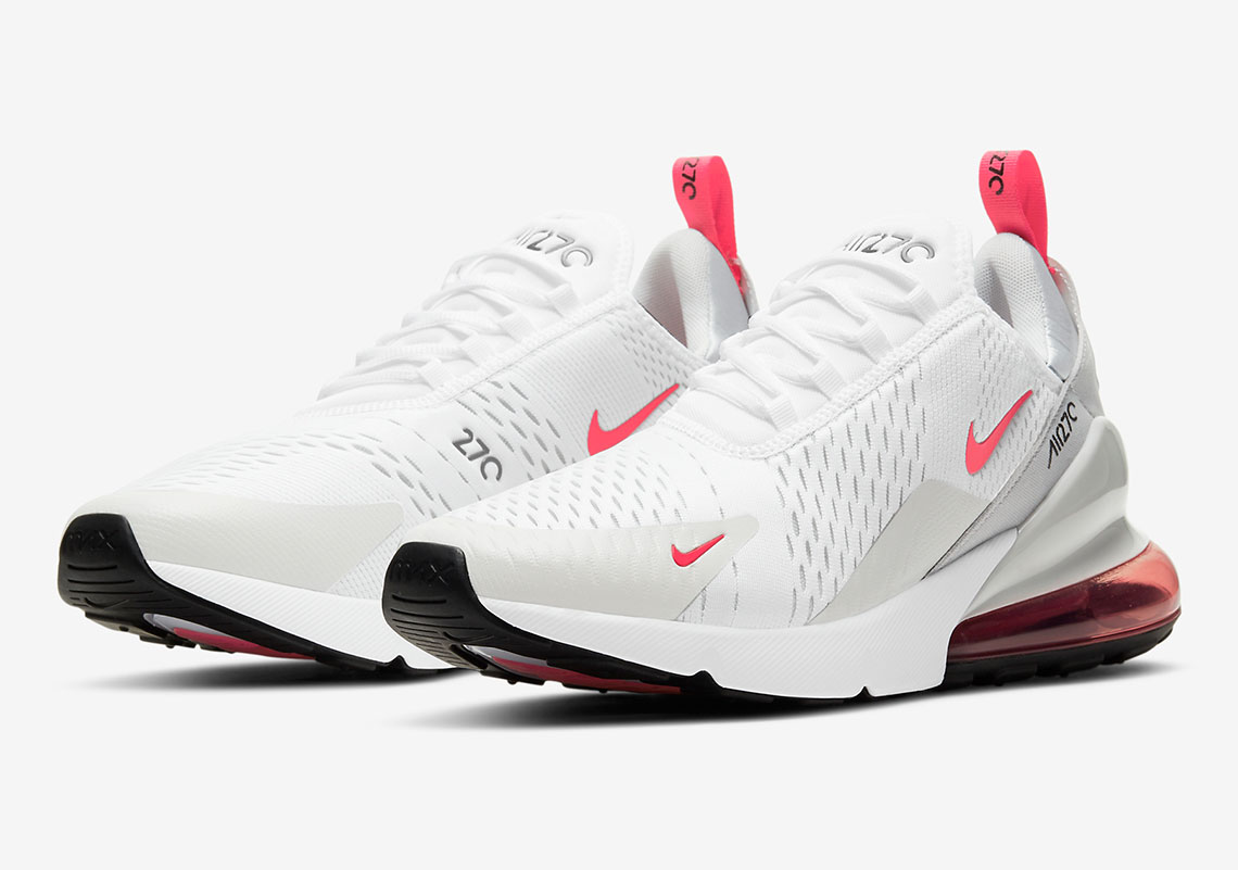 obturador patrón autoridad  Nike Air Max 270 White Light Fuschia DD7120-100 | SneakerNews.com