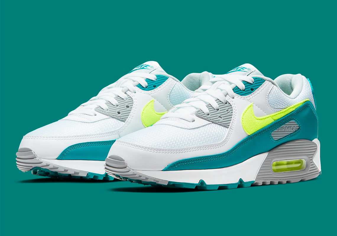 """The Nike Air Max 90 """"Spruce Lime"""" Releases Tomorrow"""