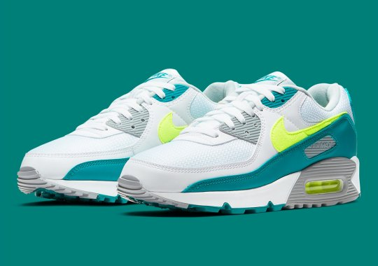 """The Nike Air Max 90 """"Spruce Lime"""" To See First Ever Global Release Since 1990"""