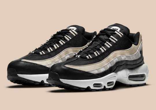 """Raise A Glass To The New Black """"Champagne"""" Nike Air Max 95"""