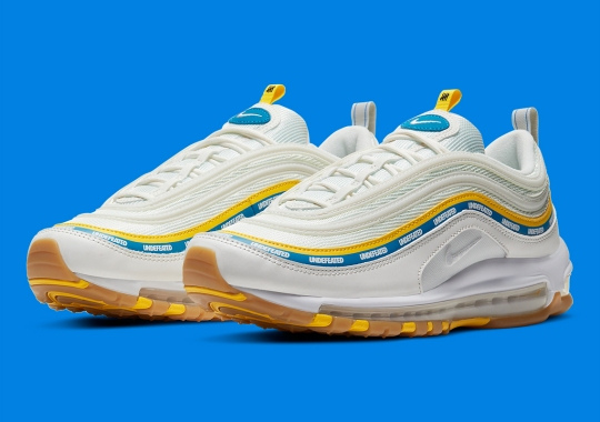 The Undefeated x Nike Air Max 97 Appears In UCLA Colors