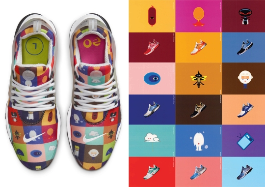 "The Nike Air Presto ""Origins"" Features All Characters From Its Original Ads"